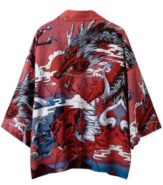 Dragon Kimono Men's
