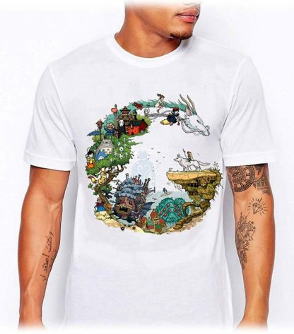 t shirt Ghibli