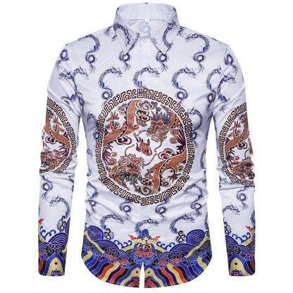 Mens Dragon Shirt