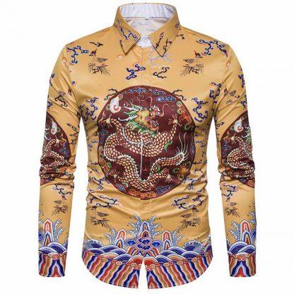 Shirt with Dragon