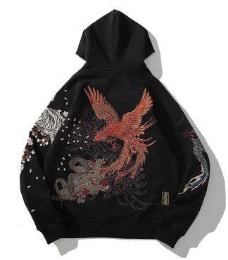 dragon wing hoodie