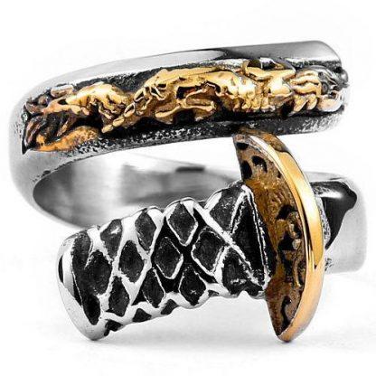 dragon ring katana