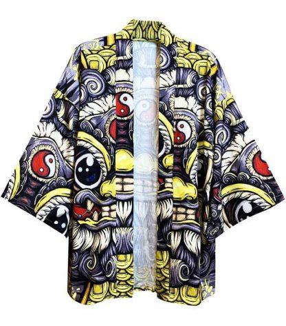 Kimono Chinese with Dragon