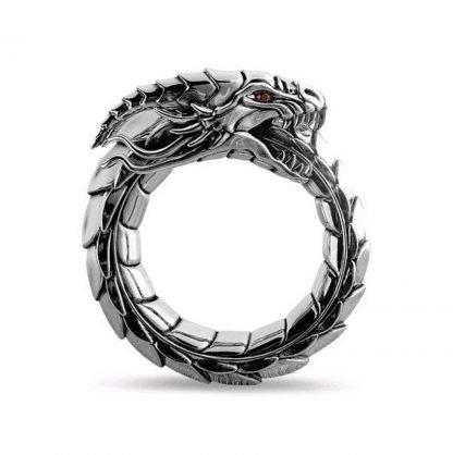 Ouroboros Dragon Ring