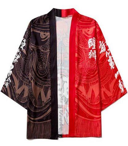 Red Dragon Kimono haori
