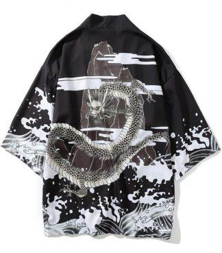 Black Dragon Kimono