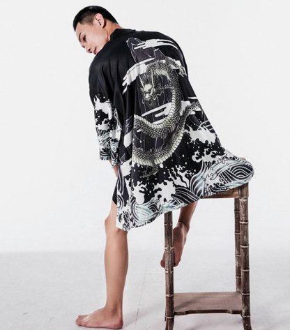 kimono Black Dragon