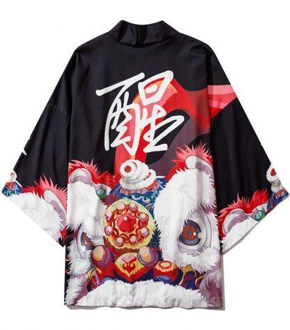 chinese dragon kimono