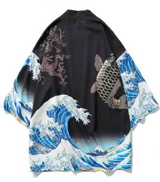 dragon kimono cardigan