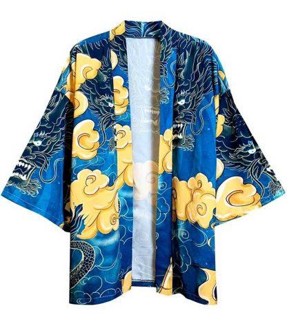 men dragon kimono