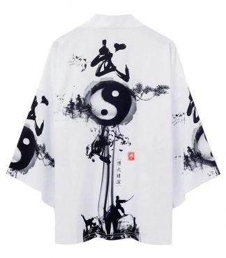 dragon silk kimono