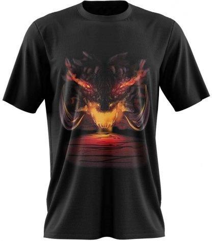 Dragon T-Shirt Design crypt