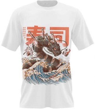 great sushi dragon t shirt