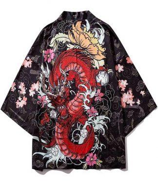 kimono japan dragon