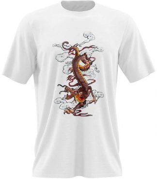 oriental dragon t shirt