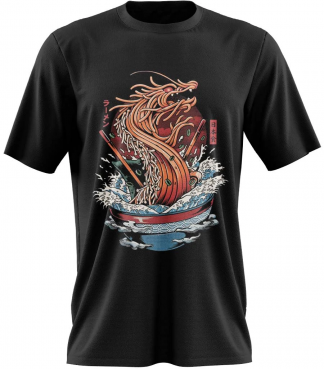 Ramen T-Shirt Dragon
