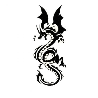 Celtic Dragon Temporary Tattoo