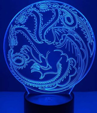 Targaryen Dragon Led Light