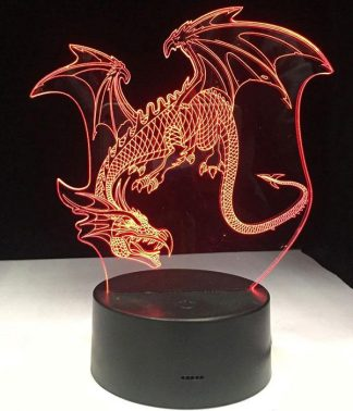 Evil Dragon Led Light