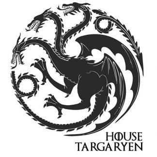 Game Of Thrones Dragon Stickers