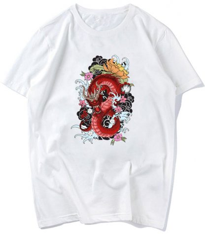 Girl Chinese t-shirt Dragon