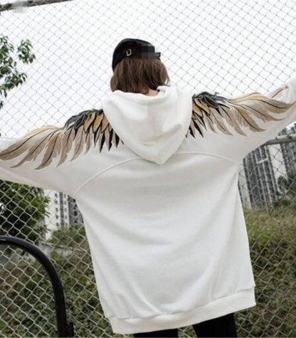 dragon hoodie with wings