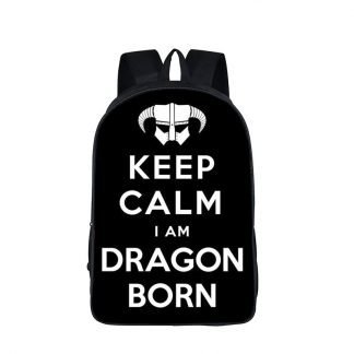 Keep Calm Dragon Backpack