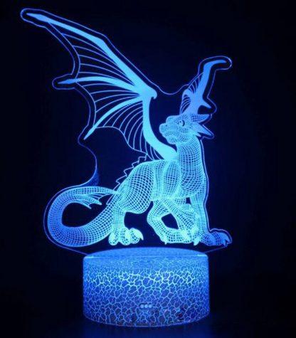 Dragon Led Light Bat Wings