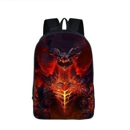Flamboyant Dragon Backpack