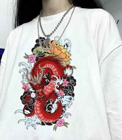 Girl Chinese Dragon T-Shirt