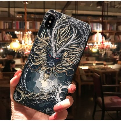 Dragon iPhone Case bearded