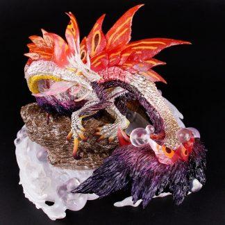 Purple Dragon Figurine
