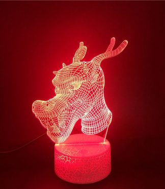 Dragon Led Light Headed
