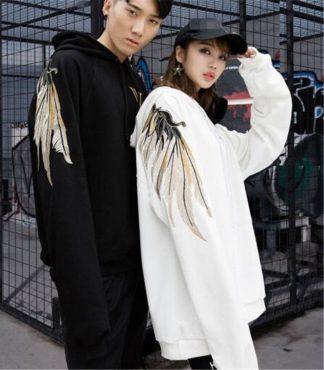 wings dragon hoodie