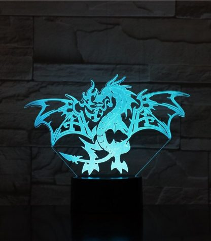 Dragon Led Light Flaming