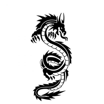 Product reference: Dragon sticker for car