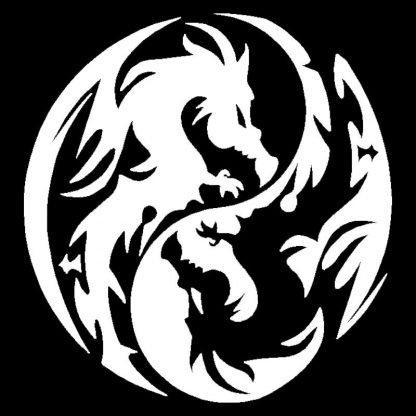 Car Dragon Sticker tao