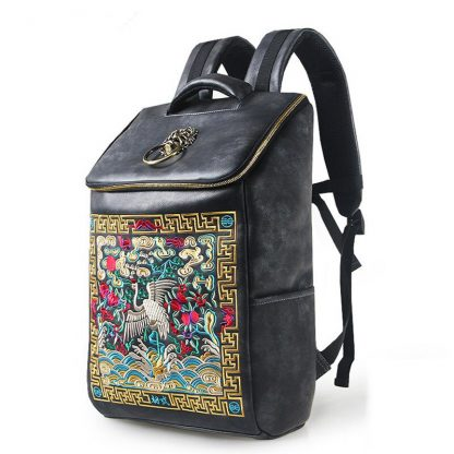 vintage Chinese Dragon Backpack