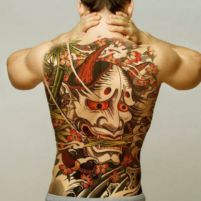 large Dragon Temporary Tattoo