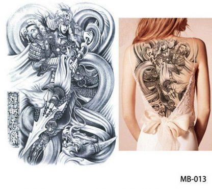 Dragon Temporary Tattoo asian