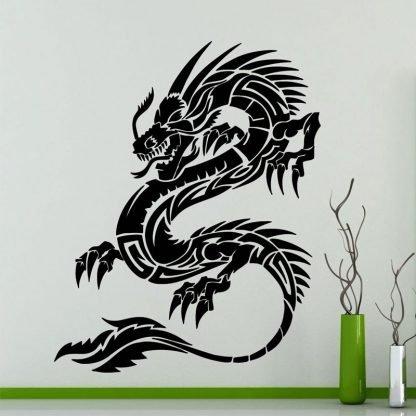 Dragon Sticker Japanese