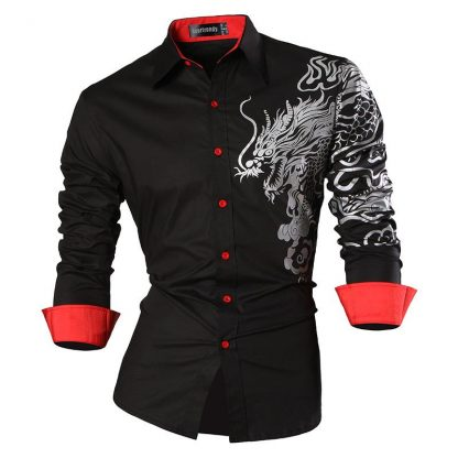 chinese dragon shirt mens