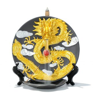 dragon incense cone burner
