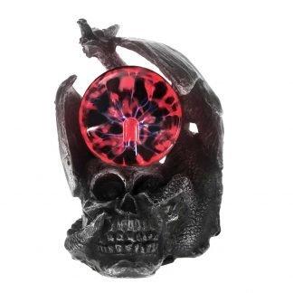 mystic dragon statue skull plasma