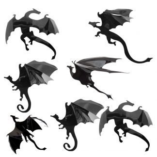 Wall Dragon Stickers