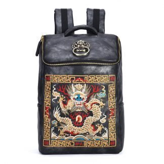 Chinese Dragon Backpack Vintage