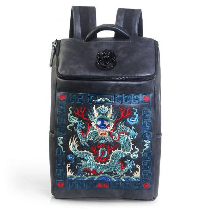 Chinese vintage Dragon Backpack