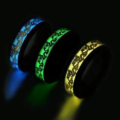 dragon ring glowing