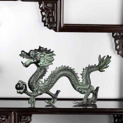 Feng Shui Dragon Figurine