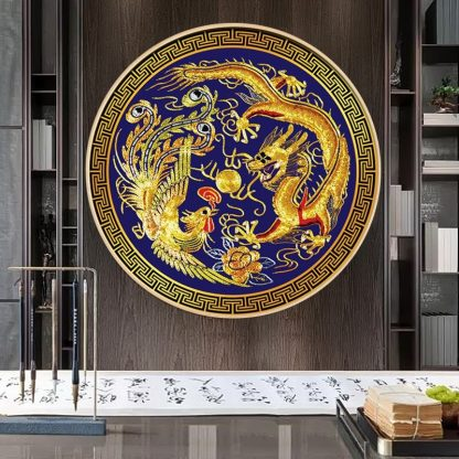 Ancient Chinese Dragon Painting